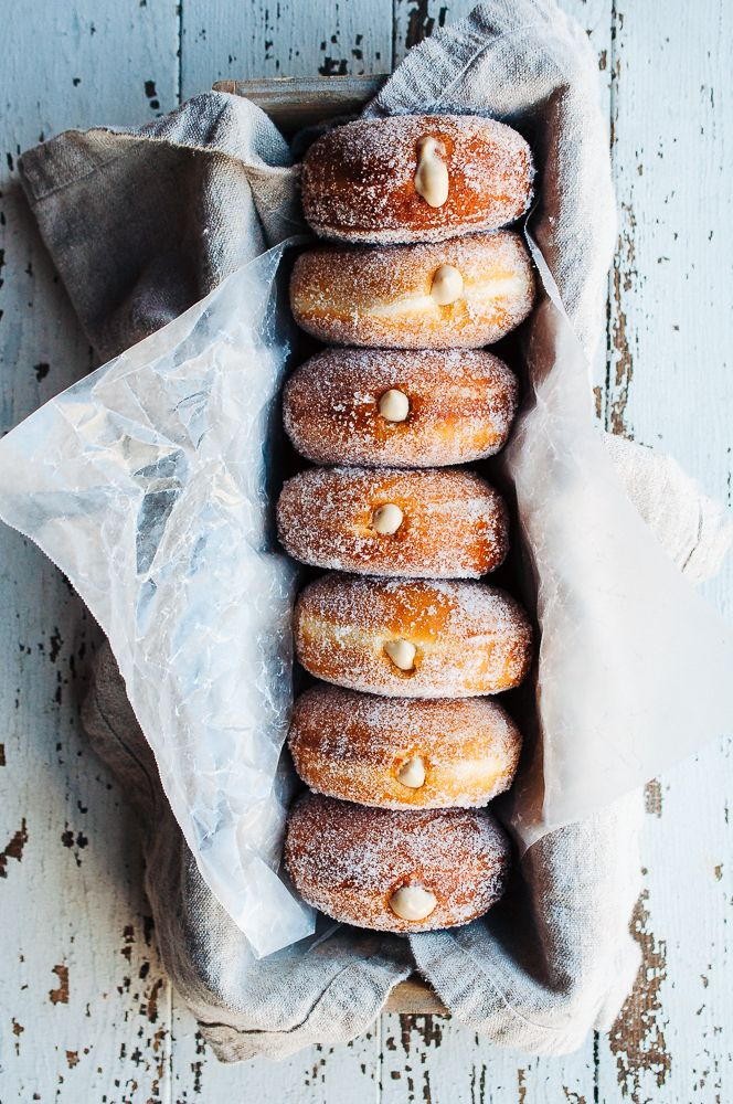 Coffee Doughnuts | Hint of Vanilla