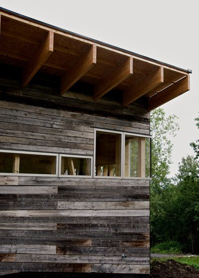 farm house via jarmund/vigsnaes architecture in toten, norway