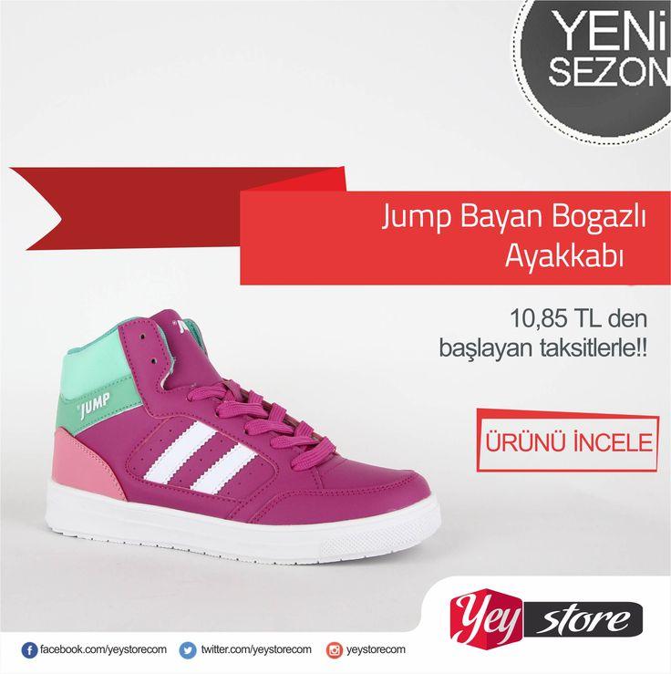 Jump bayan basketbol ayakkabıları en uygun taksitlerle #yeystorecom da http://www.yeystore.com/#action=categoryList&parentId=180 #yeystore #bayanayakkabı #sporayakkabı #basketayakkabısı #uygunfiyat #kalite #jump #marka #rahat