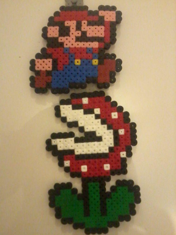 Pixel art : jeu vidéo Mario & fleur carnivore | C'est moi ...