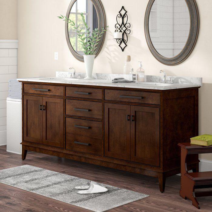 Chesterville 72 Double Bathroom Vanity Set Double Vanity