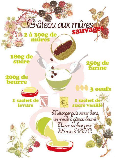 Tambouille» Gâteau aux mûres