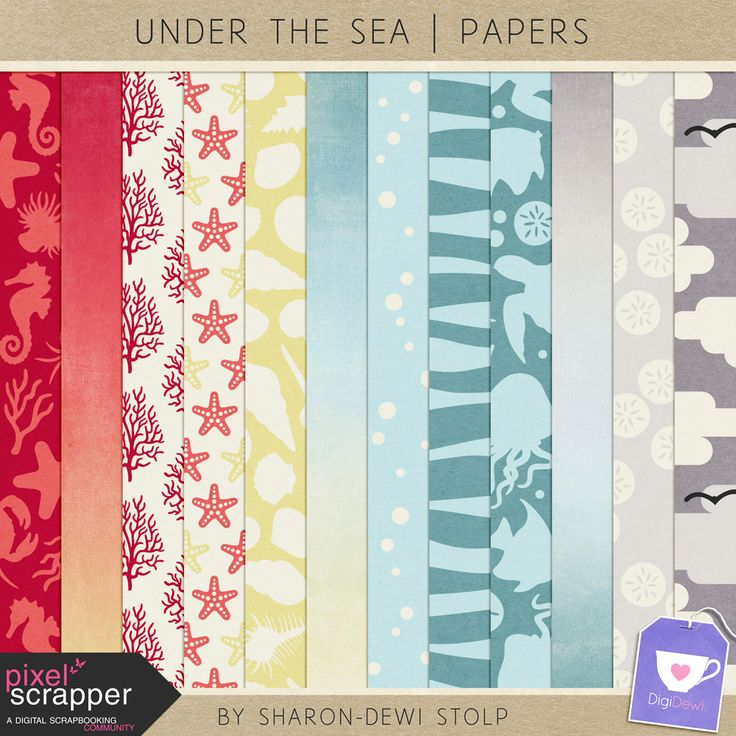 Freebie Under The Sea | Papers