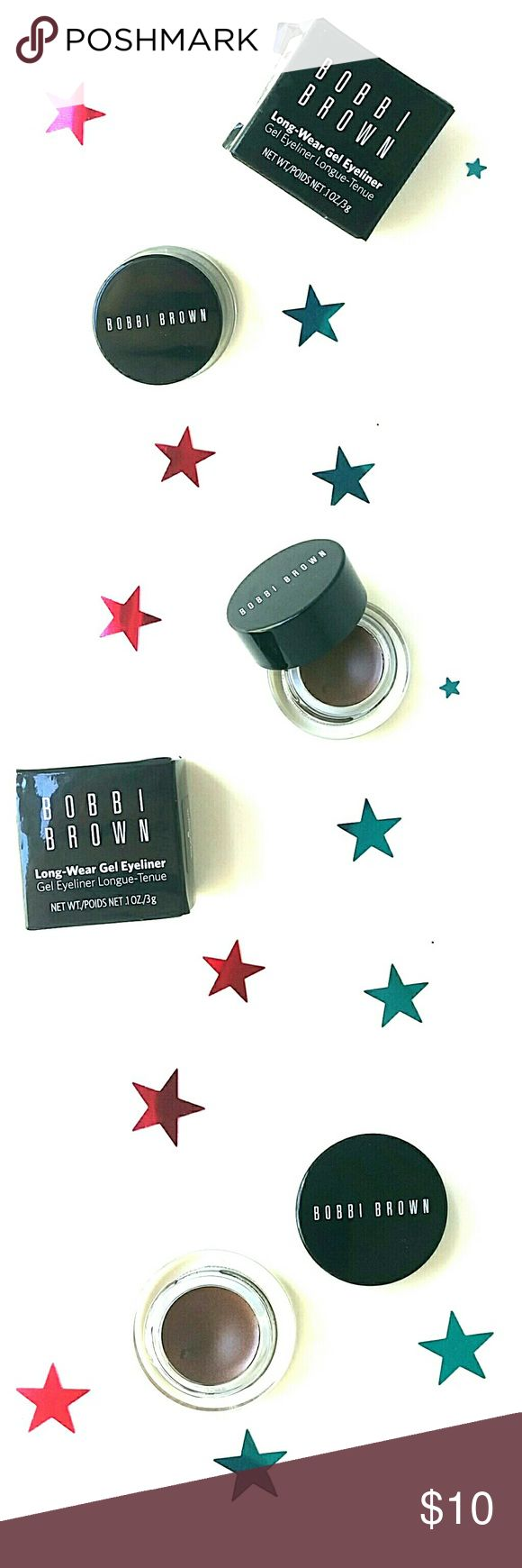 Bobbi Brown Long Wear Eyeliner Bronze Shimmer Ink Award winning long wearing eyeliner offers the precision of liquid liner with the ease of a gel based formula. 12 hours: waterproof, sweatproof. Will it flake or fade. Can be used as a brow filler also. Bobbi Brown Makeup Eyeliner