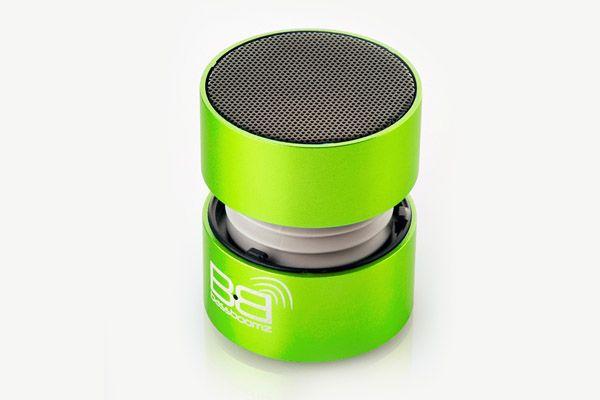 BassBoomz Verde, coluna portátil bluetooth | 44,75€