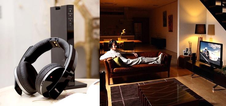 Mieux que le casque, le casque audio sans-fil?   - (Le casque Radiofréquence Sony MDR-DS6500)    #Cobra #FAQ #headphone #wireless