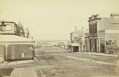 Main Street, Stawell, 1880