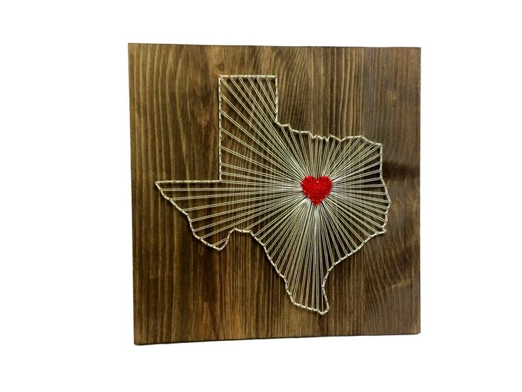 Texas String Art States Decor Texas Wall Art Home by OneRoots