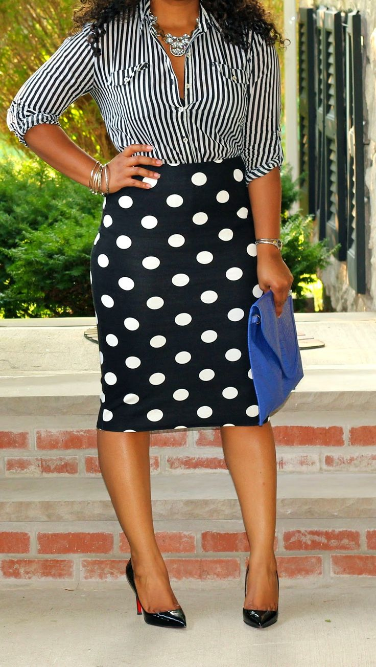 Style & Poise: Corporate Chic: Black and White Prints