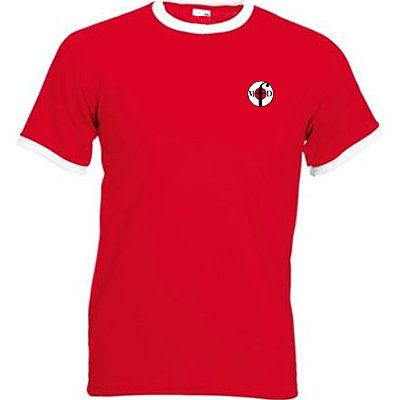 Northern Soul Clothing Ringer T-Shirts Red & White from Men Of Distinction