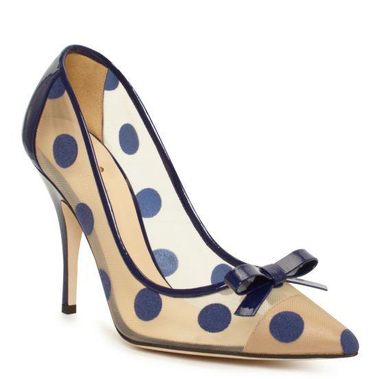 Lisa Pump  by Kate Spade New York: Fashion, Style, Lady Shoes, Polkadot, Annagoesshop Womenssho, Polka Dots Heels, High Heels, Bride Dresses, Kate Spade