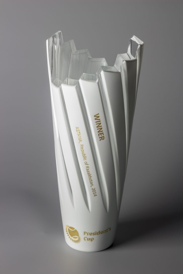 Lasvit Creates Unique Crystal Trophy for the President's Cup Tennis Trophy in Astana: