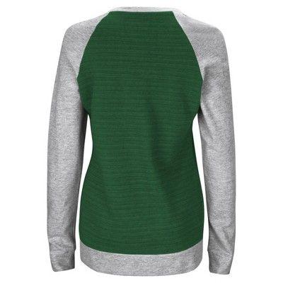 Green Bay Packers Sweatshirt S, Women's, Gray Multicolored