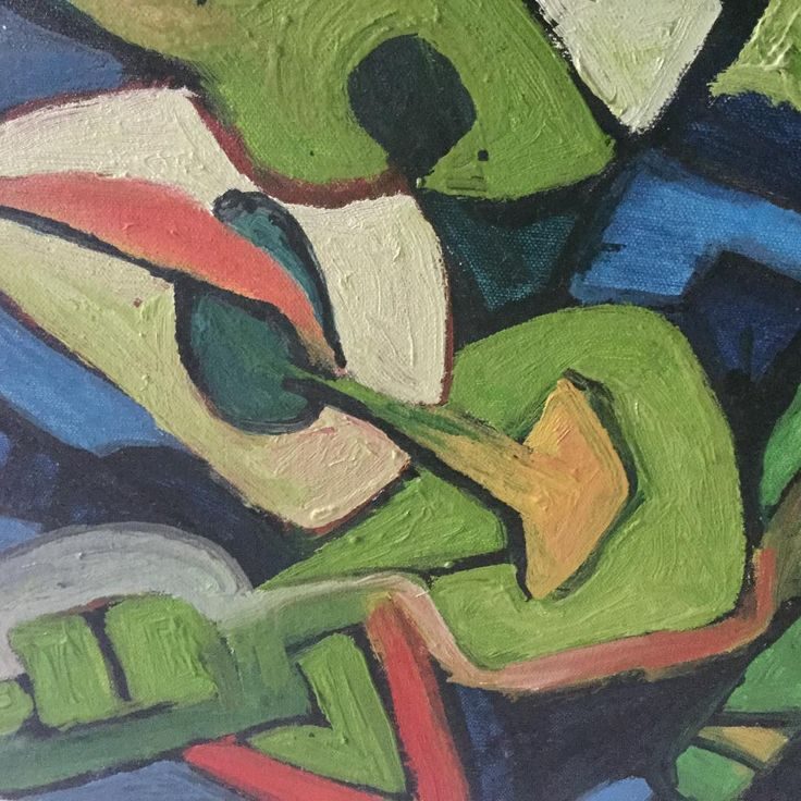 A #detail of one of OUBEYs #paintings.  #Art #Kunst #Zoomed #Zoom #detailview #detailart #artdetail #instaart #artstagram #artlove #artoftheday #gallery #artgallery #green #blue #colors #colorful #painted #art_spotlight #artwork