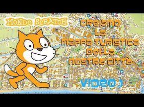Tutorial Scratch: Creiamo la mappa turistica della nostra città | Parte 1 di 3 | #MondoScratch - YouTube