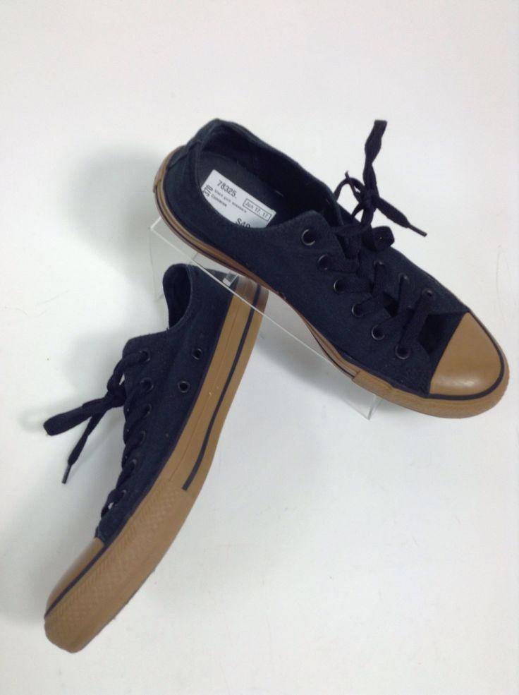 black gum sneakers
