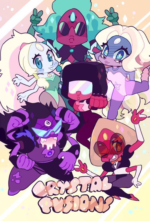 Chibi Steven Universe Fusions!