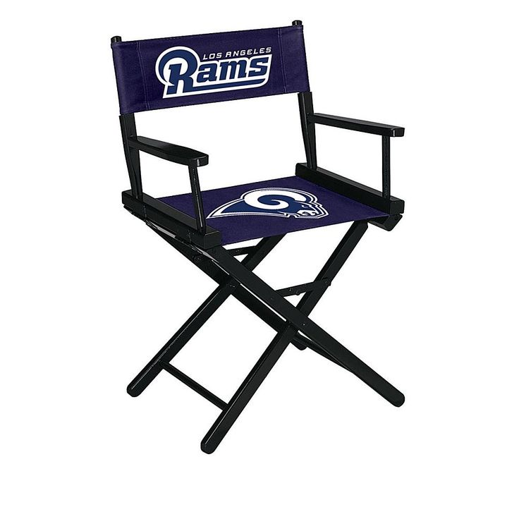 Officially Licensed NFL Table Height Director's Chair - Rams