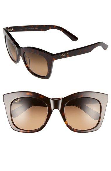 Maui Jim 'Coco Palms' 51mm PolarizedPlus2® Sunglasses available at #Nordstrom