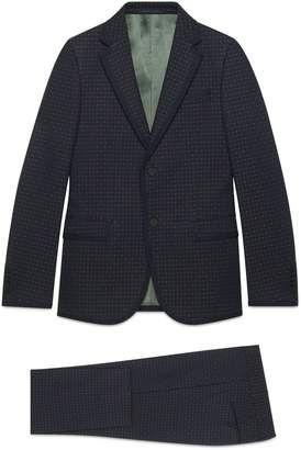 c6cc999b51 Gucci Monaco empty dots twill suit  gucci  men  fashion  suits  affiliate   wearitloveit
