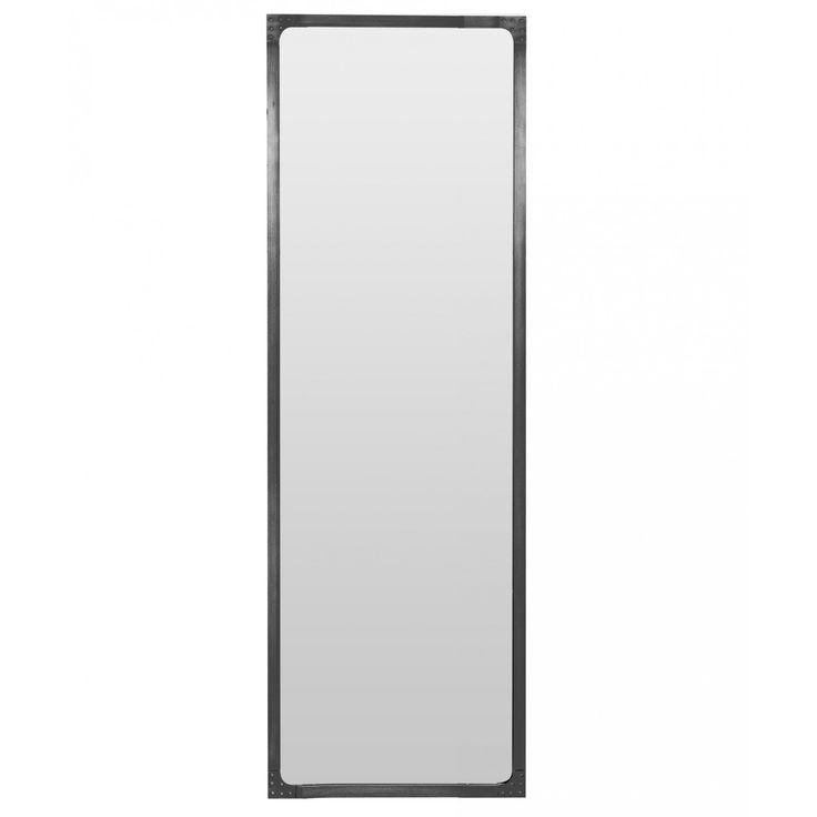 Miroir style industriel en m tal loft for Miroir industriel metal