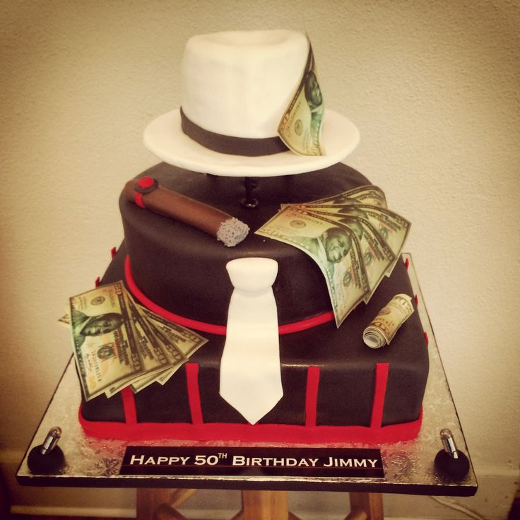 Gangster Cake More Nais Cakes Pinterest Gangsters