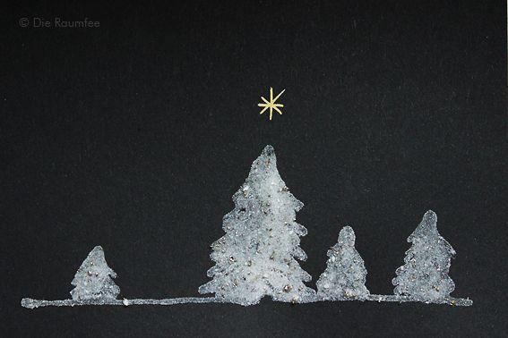 sternenstaubweihnacht  schöne weihnachtskarten sterne