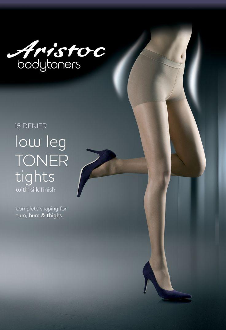 Aristoc 15 Denier Low Leg Toner Tights.