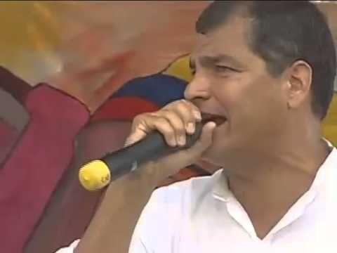 Discurso del Presidente Rafael Correa Delgado en la Marcha por el día de los trabajadores.