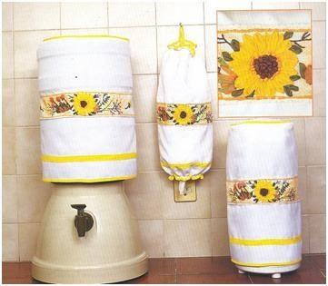 Fundas manualidades de hogar girasoles pinterest for Sala girasol