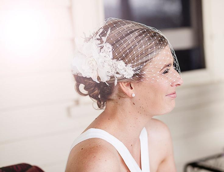 Izziana Millinery Bridal Headpiece