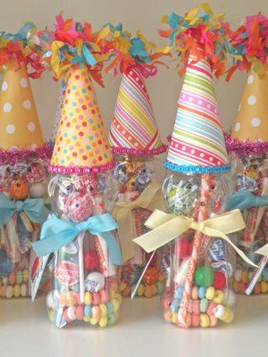 Birthday Party favor in a jar