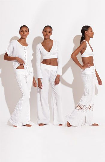 Hard Tail Voile Pants . . . be comfortable yet stylish on those getaway tropical locales!