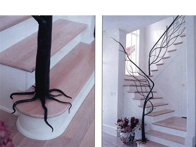Tree Branch Staircase Railing #home #decor
