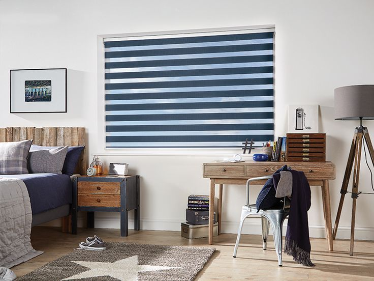 The beautiful Vision Blind in a deep Navy Blue