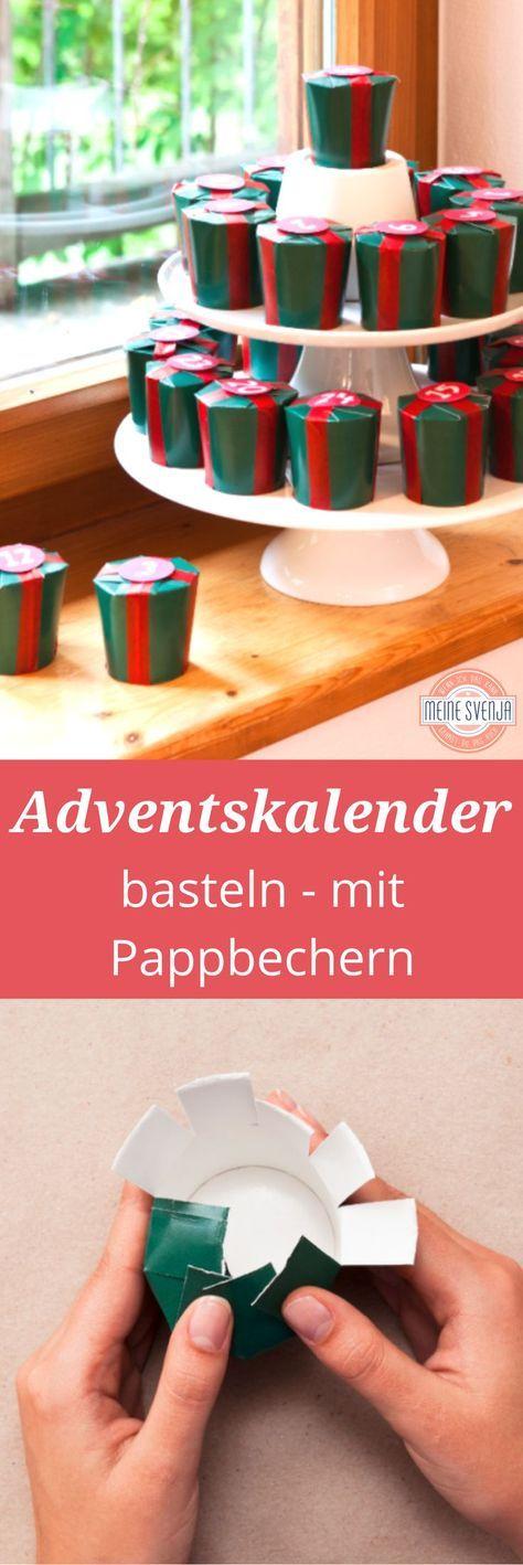 adventskalender basteln und geschenke einpacken xmas advent calendars and craft. Black Bedroom Furniture Sets. Home Design Ideas