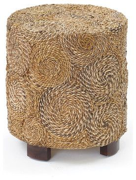 Round Banana Stool tropical-ottomans-and-cubes