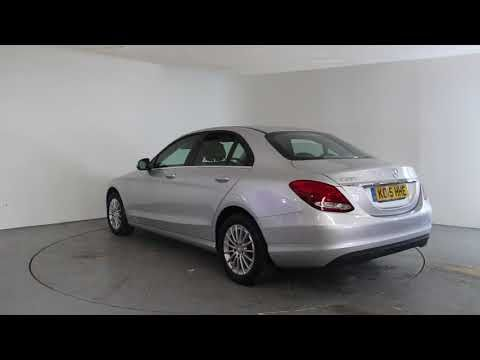 MERCEDES-BENZ C CLASS C200 SE - Air Conditioning - Alloy Wheels - Full Leather Interior - Spare Key - Reverse Parking Camera | In silver with 26000 miles ...