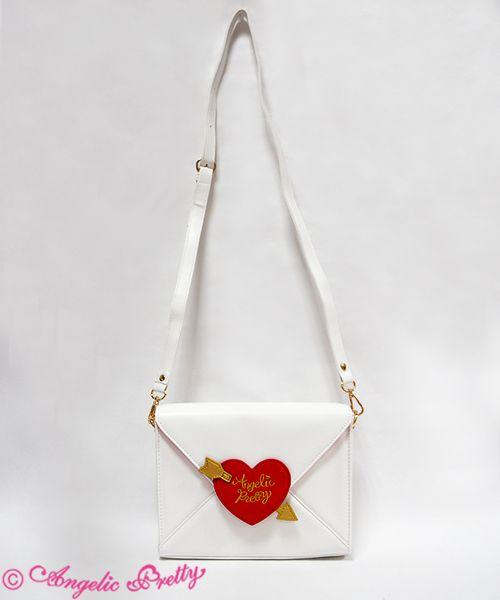 Angelic Pretty | L O V E Heart Letter Bag