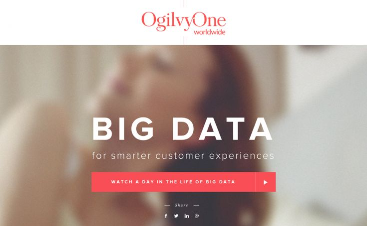 A day in Big Data featured on Very Nice Sites | Best web design 2014 | Beautiful websites 2014