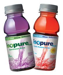 Isopure is one of the approved CLEAR LIQUID protein drinks for #cmcwls patients