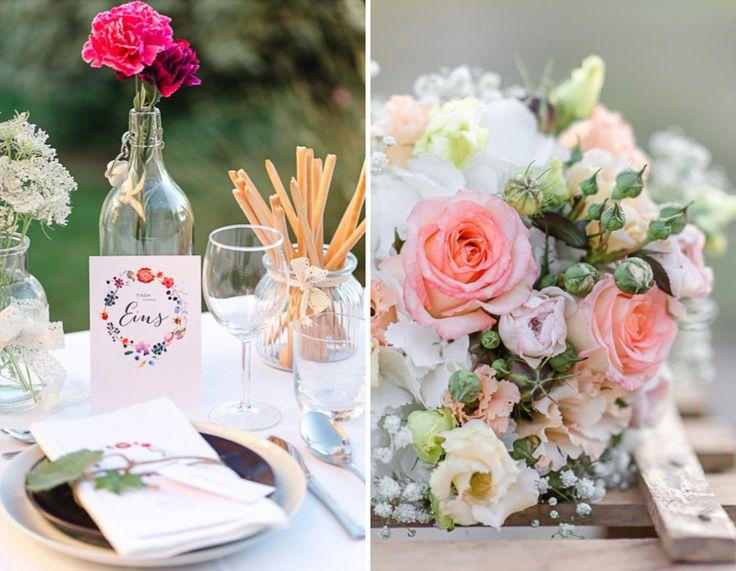 Olive, Kaktus, Pfauen Federn Und Noch Sechs Weitere Ideen Rund Um Das Deko  Konzept Einer Hochzeit. Hier Findest Du Zahlreiche Fotos!