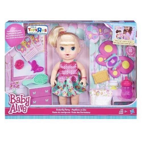 Boneca Baby Alive - Borboletinha Loira - Hasbro