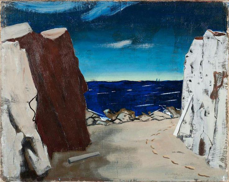 Otto Makila (1904 - 1955) The Sea, 1938