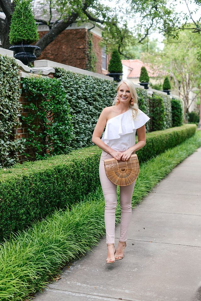 blush skinny jeans + a memorial day weekend sale roundup!