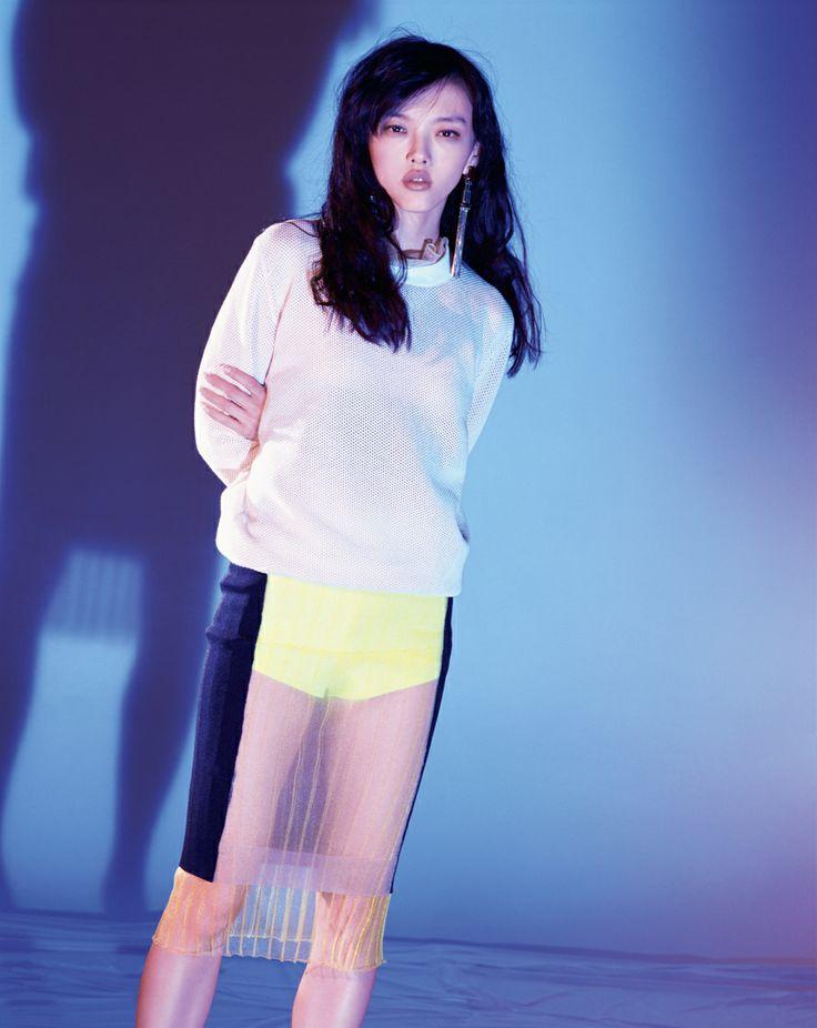 Rila Fukushima by Chikashi Suzuki for Purple Fashion Spring Summer 2014 3
