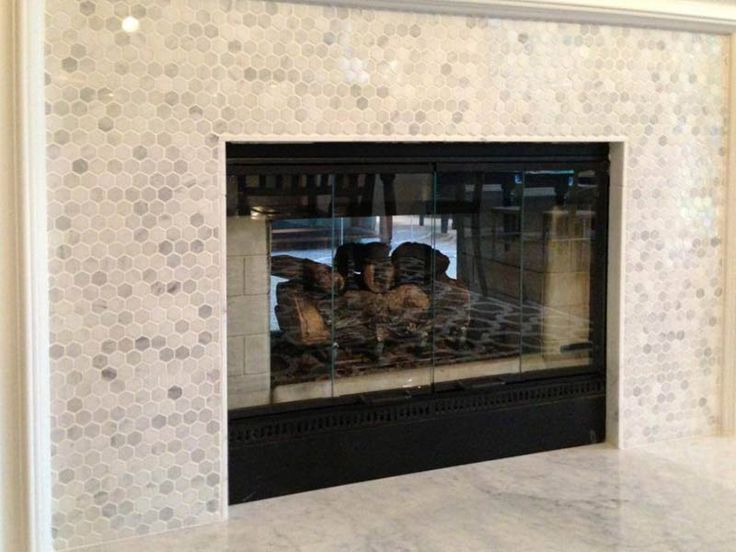 27 best Tiled Fireplace Surrounds images on Pinterest | Fireplace ...