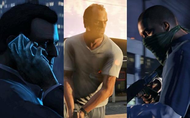Conheça Michael, Franklin e Trevor, os protagonistas de GTA 5