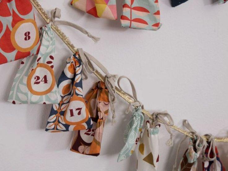 DIY-Anleitung: Adventskalender mit Stoffkit nähen via DaWanda.com