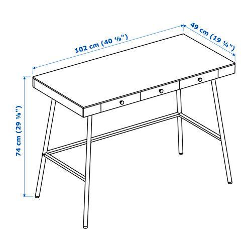 17 best ideas about bureau ikea on pinterest desks bureaus and ikea desk - Ikea suspension papier ...